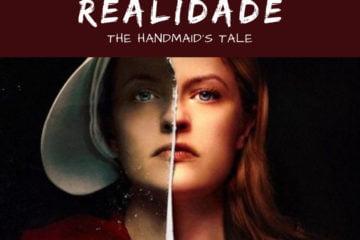 Post do Instagram de divulgação da publicação Distopia e Realidade sobre o livro e série The Handmaid's Tale.