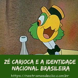 Post do Instagram com imagem do Zé Carioca e o título da publicação.