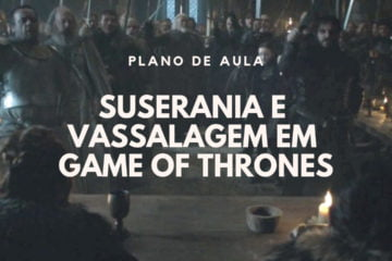 Post do Instagram com o título do texto: Suserania e Vassalagem em Game of Thrones.