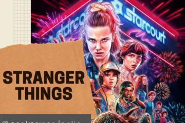 Post do Instagram que contem o título da publicação, Stranger Things: inspirações Históricas.