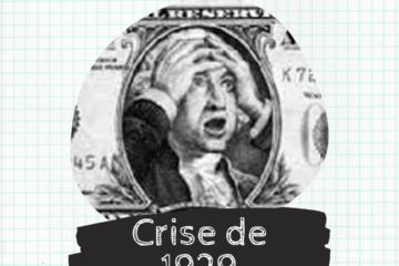 Post do Instagram com o título da publicação: Crise de 1929.