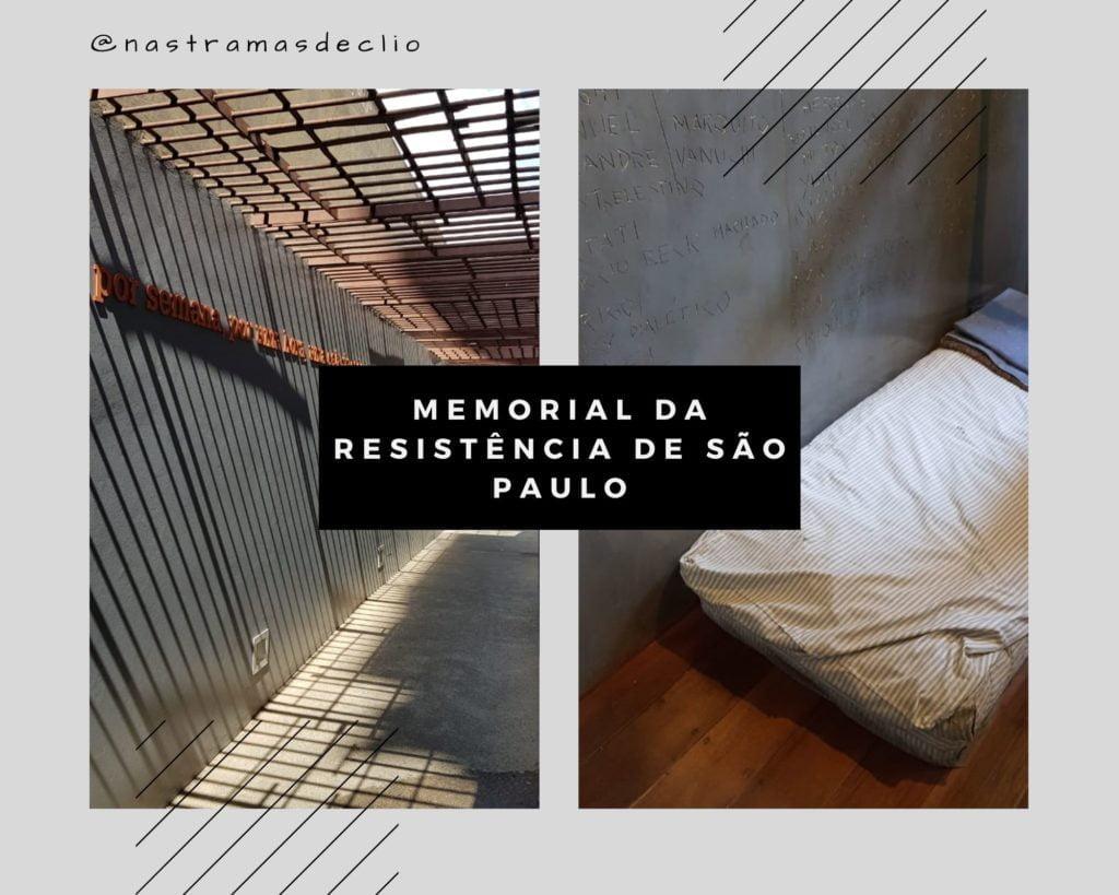 Fotografias do interior das celas do antigo DEOPS, hoje o Memorial da Resistência de São Paulo.