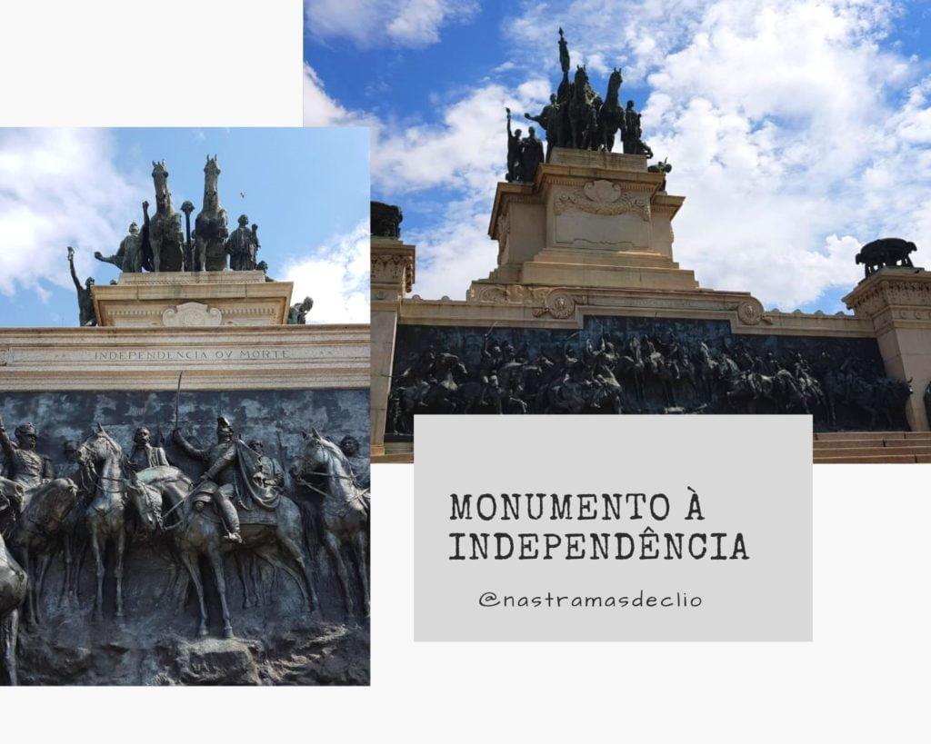 Fachada do Monumento à Independência.