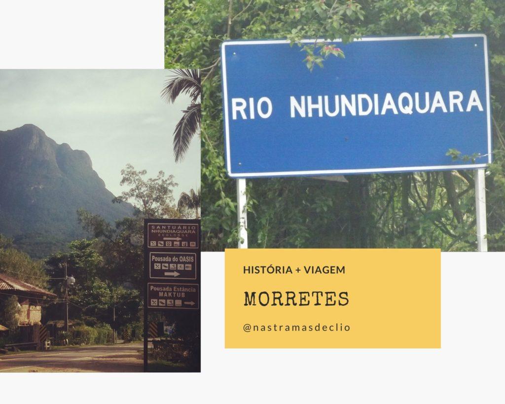 Montagem de fotos de Morretes.