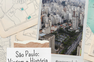 Post do Instagram com o título da publicação: São Paulo, Viagem + História.