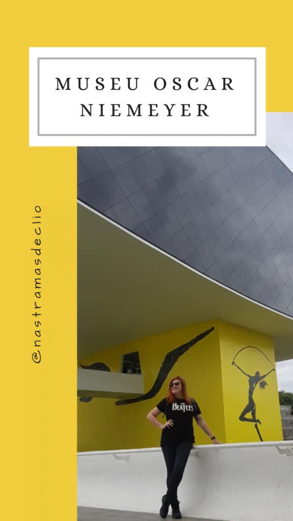 Um dos 4 Museus das dicas do texto: Museu Oscar Niemeyer.