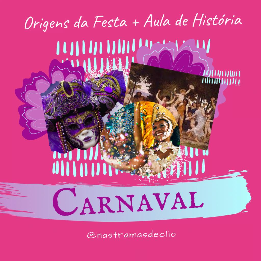 Post para o instagram com o título da publicação: Carnaval.