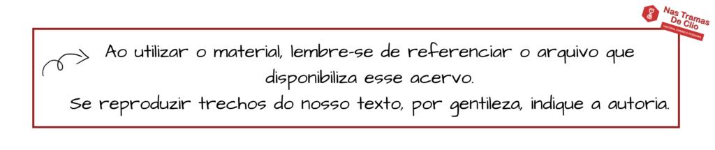 Logo do site Nas tramas de Clio acompanhada de frase.