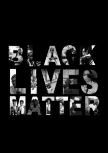 Imagem simbolizando o movimento Vidas Negras Importam.