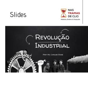 Post para o instagram com a capa dos slides: Revolução Industrial.