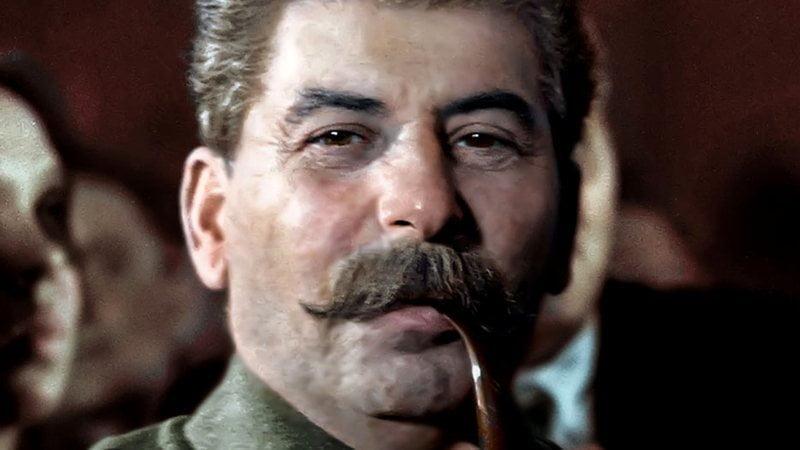 Foto de Stalin.